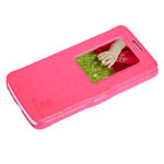 Чехол Nillkin Fresh Series Leather case для LG G2 mini D618 (красный, кожаный)