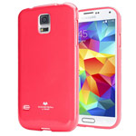 Чехол Mercury Goospery Jelly Case для Samsung Galaxy S5 SM-G900 (малиновый, гелевый)
