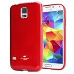 Чехол Mercury Goospery Jelly Case для Samsung Galaxy S5 SM-G900 (красный, гелевый)