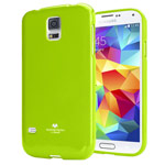 Чехол Mercury Goospery Jelly Case для Samsung Galaxy S5 SM-G900 (зеленый, гелевый)