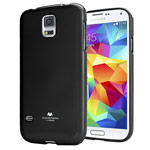Чехол Mercury Goospery Jelly Case для Samsung Galaxy S5 SM-G900 (черный, гелевый)