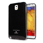 Чехол Mercury Goospery Jelly Case для Samsung Galaxy Note 3 N9000 (черный, гелевый)
