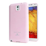 Чехол Mercury Goospery Jelly Case для Samsung Galaxy Note 3 N9000 (розовый, гелевый)