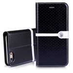Чехол Nillkin Ice Leather case для Apple iPhone 6 (черный, кожаный)