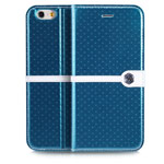 Чехол Nillkin Ice Leather case для Apple iPhone 6 (голубой, кожаный)