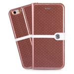 Чехол Nillkin Ice Leather case для Apple iPhone 6 (коричневый, кожаный)