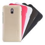 Чехол Nillkin Hard case для HTC Desire 210 (черный, пластиковый)