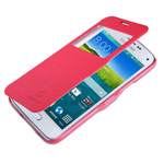 Чехол Nillkin Fresh Series Leather case для Samsung Galaxy S5 mini SM-G800 (красный, кожаный)