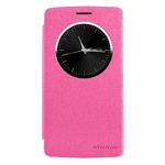Чехол Nillkin Sparkle Leather Case для LG G3 Beat D724 (G3 mini) (розовый, кожаный)