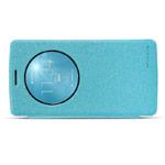 Чехол Nillkin Sparkle Leather Case для LG G3 Beat D724 (G3 mini) (голубой, кожаный)