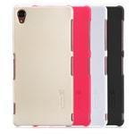 Чехол Nillkin Hard case для Sony Xperia Z3 L55t (красный, пластиковый)