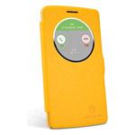 Чехол Nillkin Fresh Series Leather case для LG G3 Beat D724 (G3 mini) (желтый, кожаный)