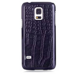 Чехол Yotrix CrocodileCase для Samsung Galaxy S5 mini SM-G800 (черный, кожаный)