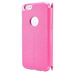 Чехол Nillkin Sparkle Leather Case для Apple iPhone 6 (розовый, кожаный)