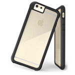 Чехол G-Case Shock Resistant Crystal Series для Apple iPhone 6 plus (черный, пластиковый)