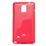 Чехол Mercury Goospery Jelly Case для Samsung Galaxy Note 4 N910 (малиновый, гелевый)