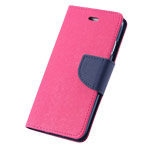 Чехол Mercury Goospery Fancy Diary Case для Apple iPhone 6 plus (малиновый, кожаный)