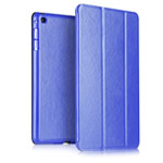 Чехол Yotrix SmartCase для Apple iPad Air 2 (синий, кожаный)