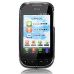 Чехол Nillkin Soft case для LG Optimus Net P690 (черный)