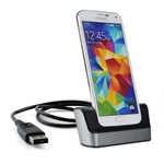 Dock-станция Temei Dual USB Cradle with Battery Slot для Samsung Galaxy S5 SM-G900 (черная)