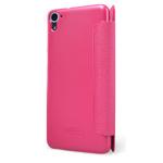 Чехол Nillkin Sparkle Leather Case для HTC Desire 826 (розовый, винилискожа)