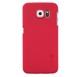 Чехол Nillkin Hard case для Samsung Galaxy S6 SM-G920 (красный, пластиковый)