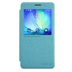 Чехол Nillkin Sparkle Leather Case для Samsung Galaxy A7 SM-A700 (голубой, винилискожа)