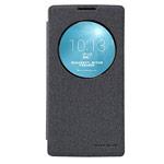 Чехол Nillkin Sparkle Leather Case для LG Spirit H440 (темно-серый, винилискожа)