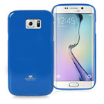 Чехол Mercury Goospery Jelly Case для Samsung Galaxy S6 edge SM-G925 (синий, гелевый)