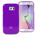 Чехол Mercury Goospery Jelly Case для Samsung Galaxy S6 edge SM-G925 (фиолетовый, гелевый)