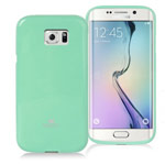 Чехол Mercury Goospery Jelly Case для Samsung Galaxy S6 edge SM-G925 (бирюзовый, гелевый)