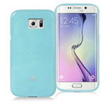 Чехол Mercury Goospery Jelly Case для Samsung Galaxy S6 edge SM-G925 (голубой, гелевый)