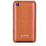 Чехол X-doria Shining Case для Apple iPod touch (4-th gen) (оранжевый)
