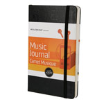 Записная книжка Moleskine Passions Music Journal (210x130 мм, чарная, 240 страниц)