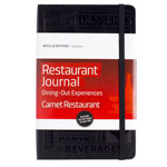 Записная книжка Moleskine Passions Restaurant Journal (210x130 мм, чарная, 240 страниц)