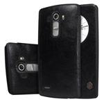 Чехол Nillkin Qin leather case для LG G4 F500 (черный, кожаный)