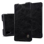 Чехол Nillkin Qin leather case для Sony Xperia Z4 (Z3 plus) (черный, кожаный)
