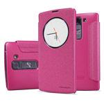 Чехол Nillkin Sparkle Leather Case для LG Magna H502f (розовый, винилискожа)