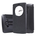 Чехол Nillkin Sparkle Leather Case для LG G4 F500 (темно-серый, винилискожа)