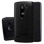 Чехол Nillkin Sparkle Leather Case для LG Leon H324 (темно-серый, винилискожа)