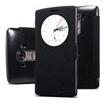 Чехол Nillkin Fresh Series Leather case для LG G4 F500 (черный, кожаный)