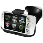 Автомобильный держатель KiDiGi Horizontal Car Kit для HTC Sensation XL X315e (hands free)