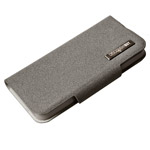 Чехол Discovery Buy All-inclusive Leather Case для Apple iPhone 5 (серый, кожанный)