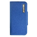 Чехол Discovery Buy All-inclusive Leather Case для Apple iPhone 5 (синий, кожанный)