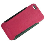 Чехол Discovery Buy Gentleman Fashion Leather Case для Apple iPhone 5 (розовый, кожанный)