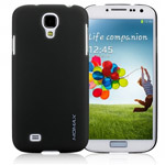 Чехол Momax Ultra Tough Clear Touch Case для Samsung Galaxy S4 i9500 (черный, пластиковый)