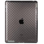 Чехол Momax i-Crystal Case 2 для Apple iPad 2 (черный)